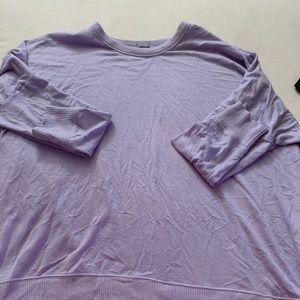 Lavender crew neck sweater